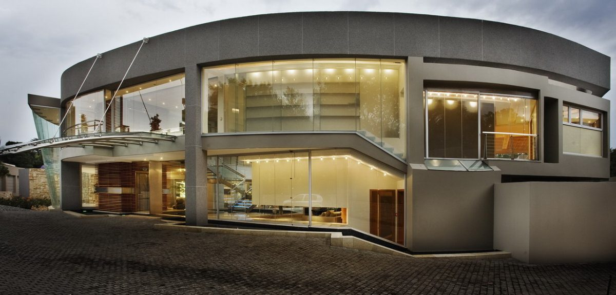 architecture south africa, glass house south africa
