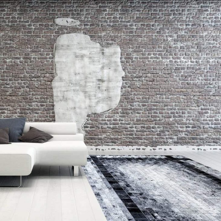 African Hand Stitched Cowhide Rugs 1