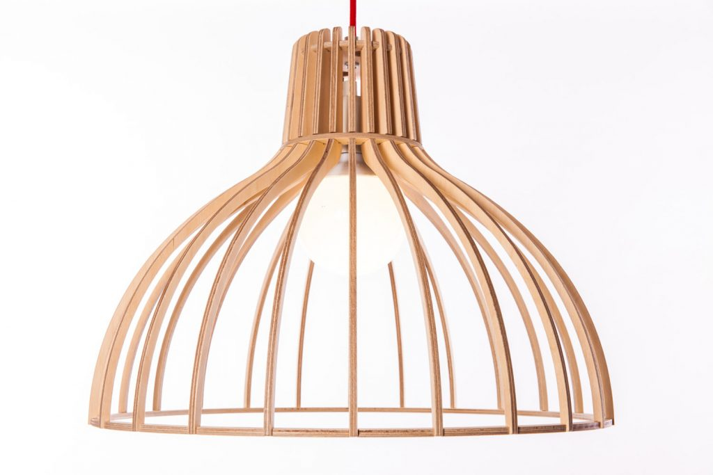 Wooden Pendant Light Fixture 6
