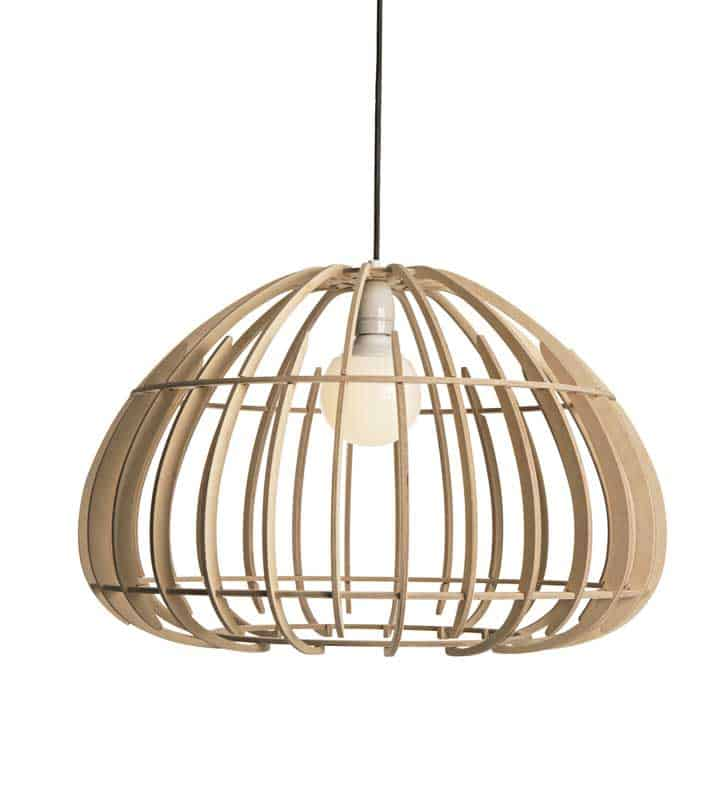 Contemporary Wood Pendant Lights 7