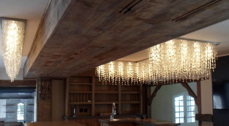 unique kitchen lighting fixture