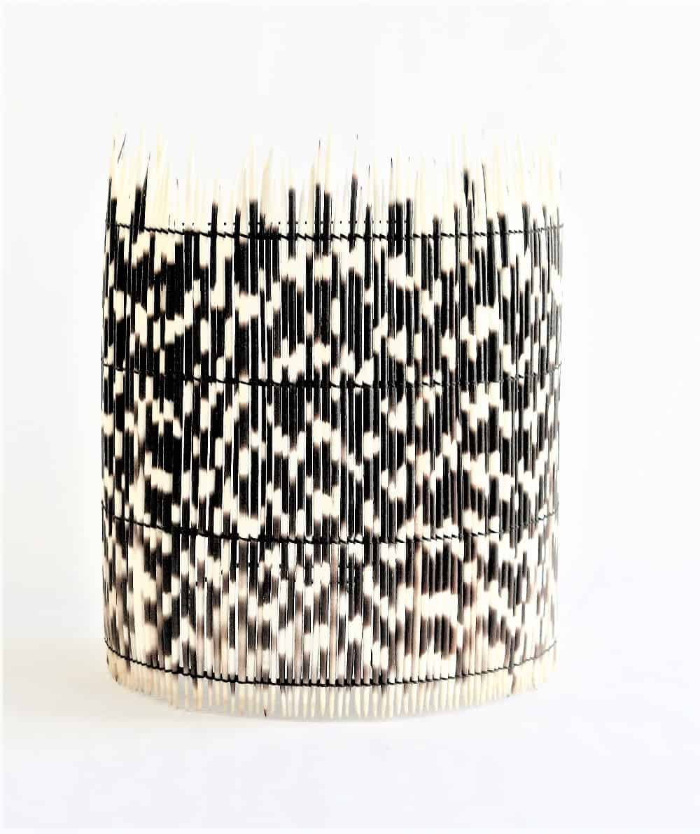 Wall Sconce Porcupine Quill Shade 8