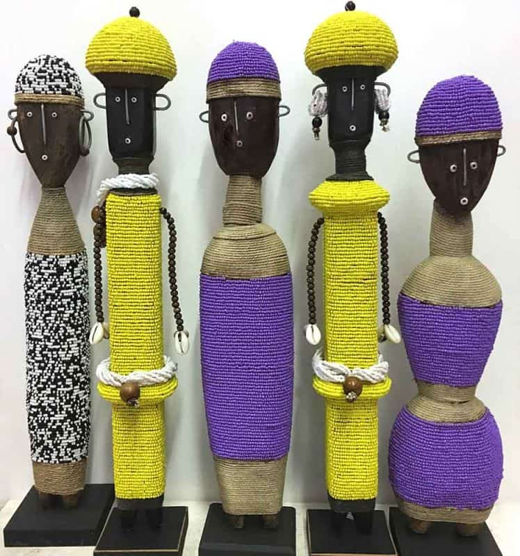 African Beaded Dolls 11