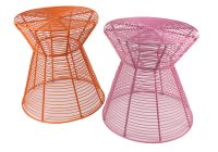 African Street Wire Furniture, Stools