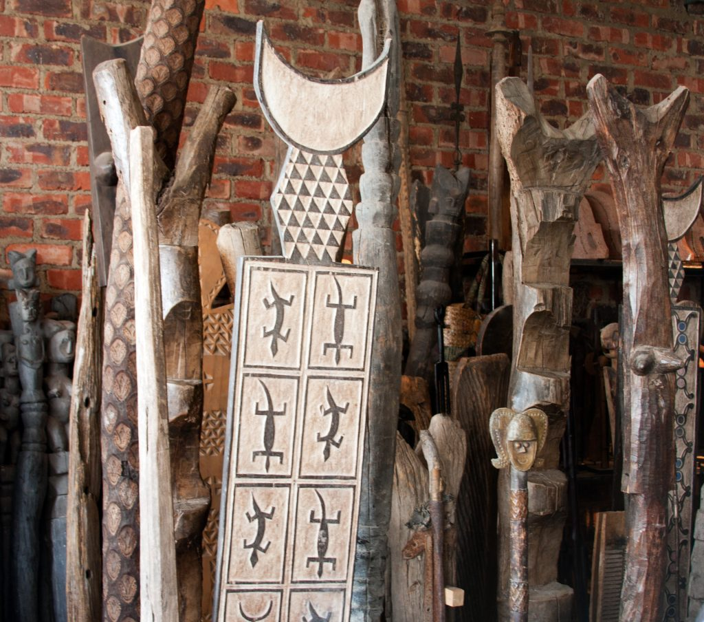 African Dogon Wood Ladders 7