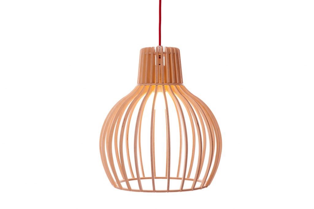 These Contemporary Wood Pendant Lights Are Made In South Africa