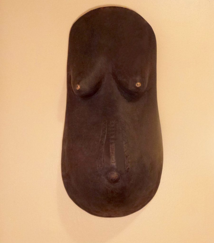African Wall Art│Makonde Pregnant Body Mask - Phases Africa ...