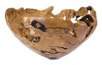 wood sculpted bowls,