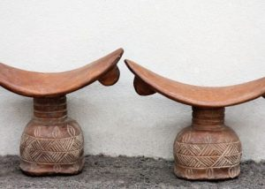 African Wood Headrests 2