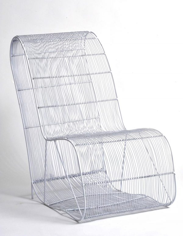 outdoor furniture, street wire chair, wire chair