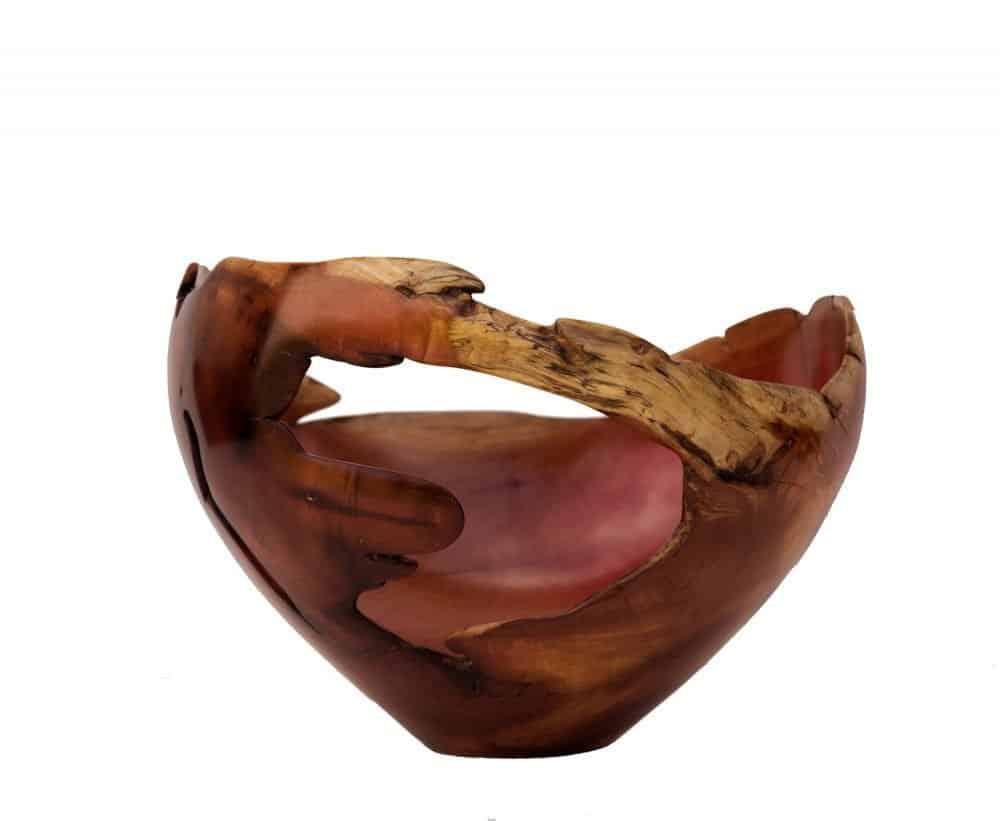Sculptural Wooden Bowl 6