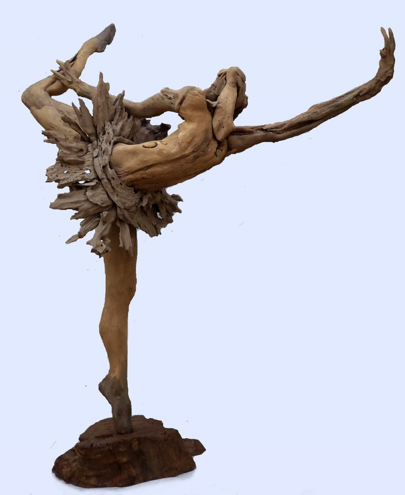 Sculptured Ballerina│Driftwood