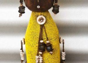 African Beaded Dolls 1