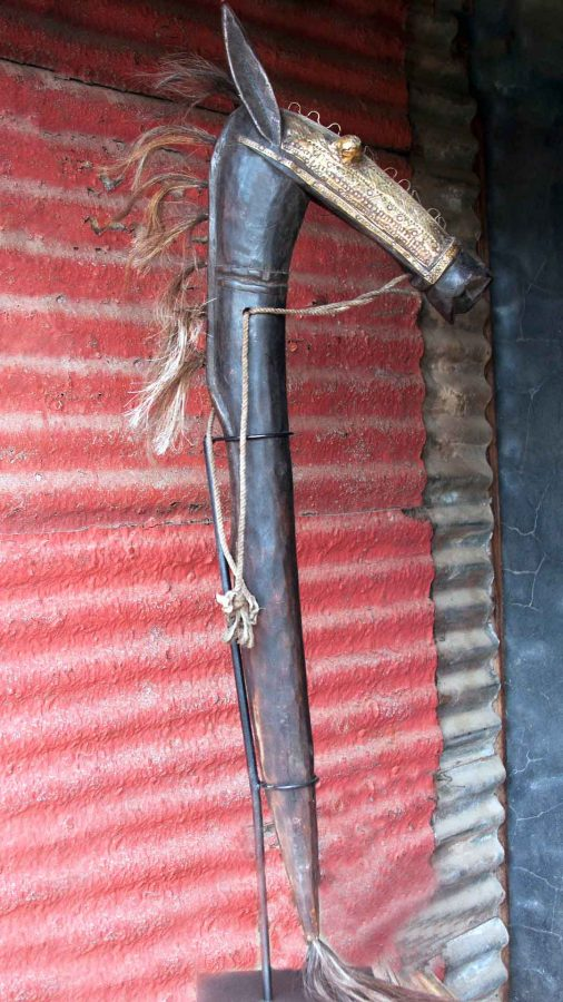 African Decor│Bambara Horse 1