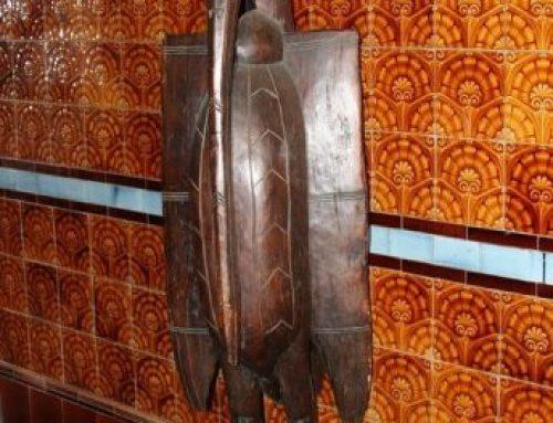 African Art Sculpture│Kalao (Hornbill) Senufo Bird