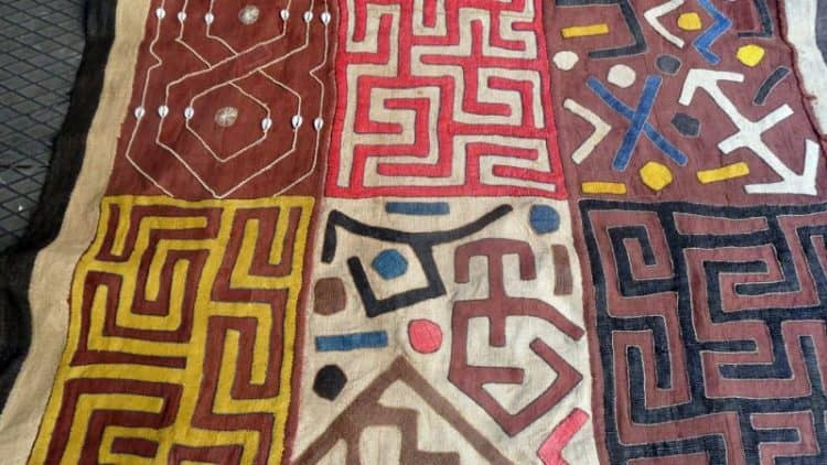 kuba cloth, african kuba cloth, plaquet kuba cloth