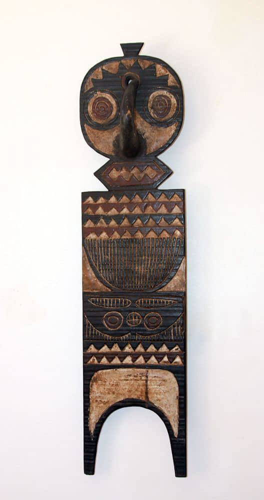 african wall decor plank mask phases africa african decor furniture. Black Bedroom Furniture Sets. Home Design Ideas