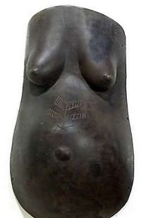 African Wall Art│Makonde Pregnant Body Mask 2