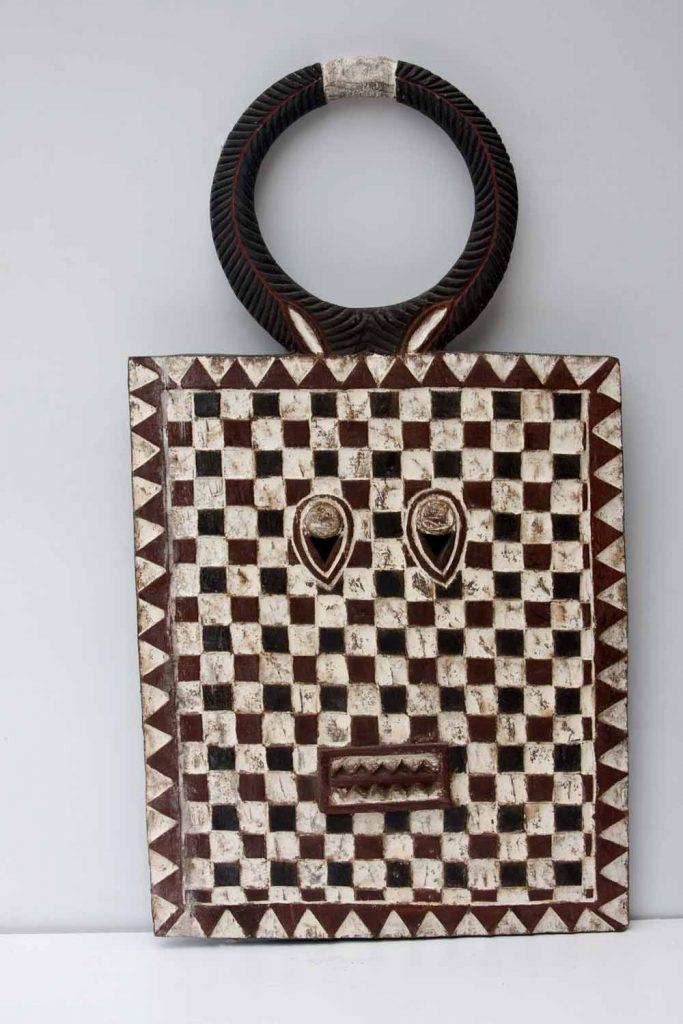 African Wall Decor│Plank Masks 6