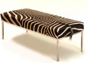 Zebra Skin Daybed│Bench 1