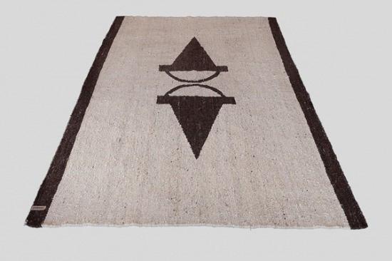 Handmade Karakul Wool Area Rugs 18