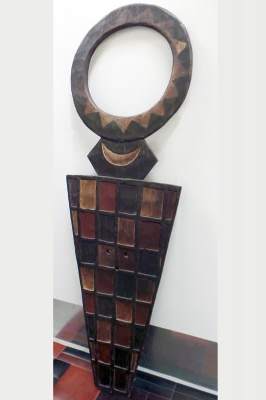 African wall art, African decorative art, African plank mask, african masks