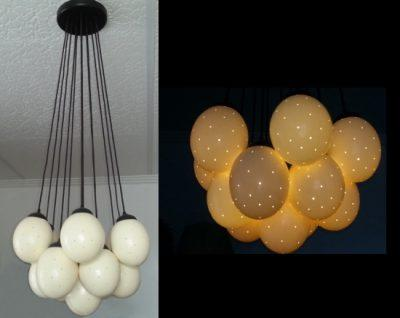 Ostrich Eggshell Globes | Unique Lighting 1