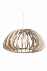 Wood Pendant Light Fixture│Cusp 300 8
