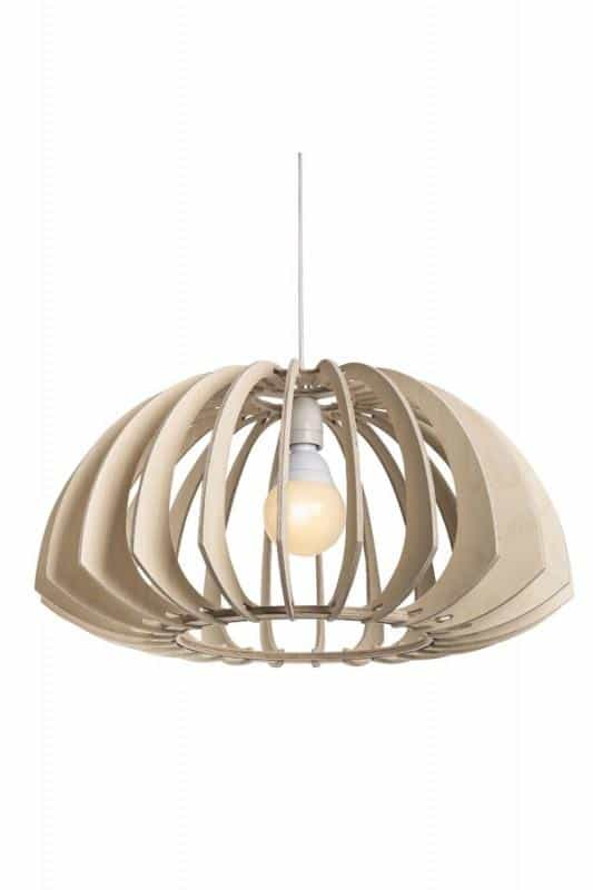 Wood Pendant Light Fixture│Cusp 300 5