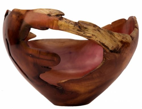 Sculptural Wooden Bowl
