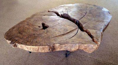 Unique Wood Coffee Table 2