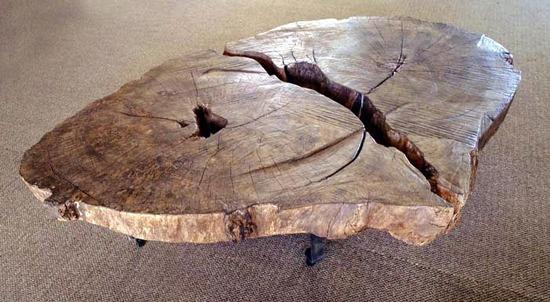 Unique Wood Coffee Table 8