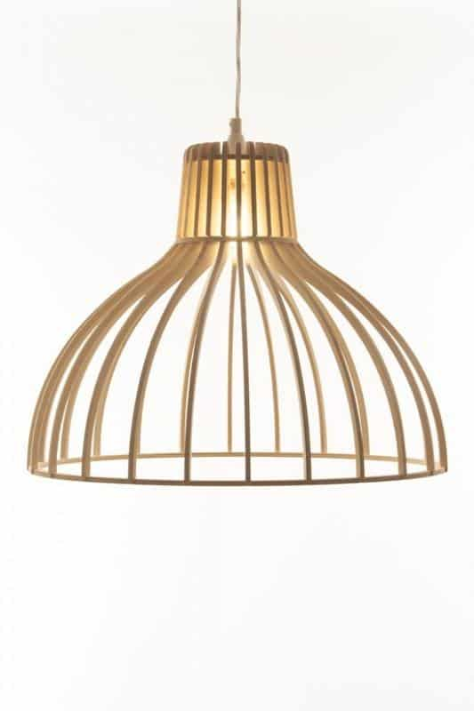 Wooden Pendant Light Fixture 6