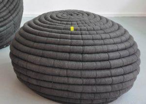 African Furniture│Tribal Ottoman