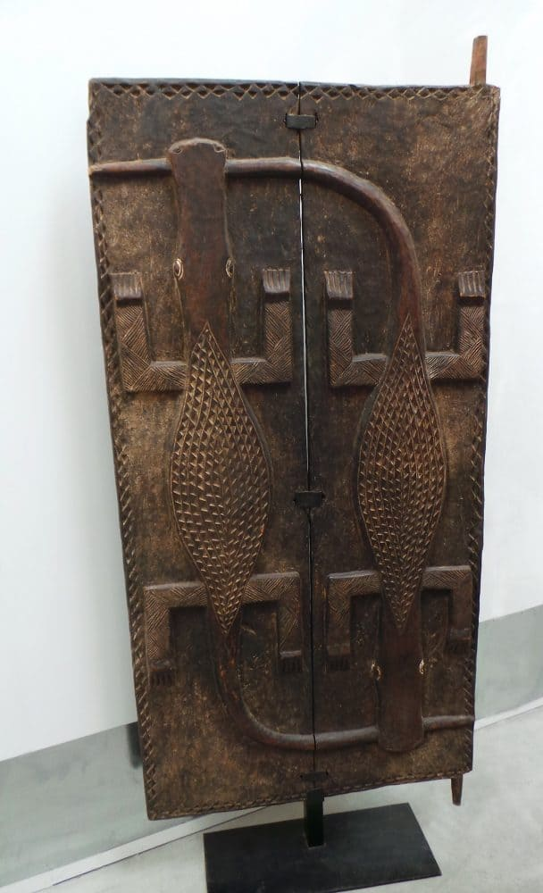 African Hand Carved Doors, Wood Panels 7