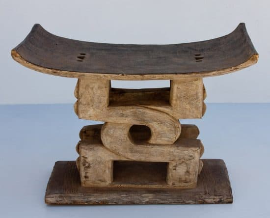 Antique Ashanti Stools│hand Carved In West Africa Phases