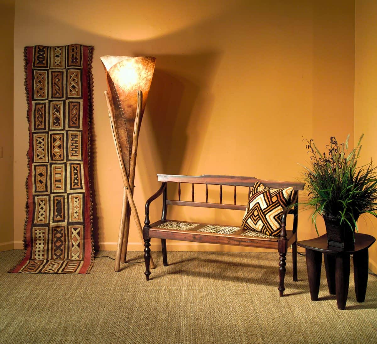 African Textiles│Kuba, showa cloth