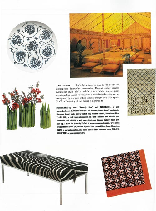 Rivera Magazine | Phases Africa | African Decor & Furniture