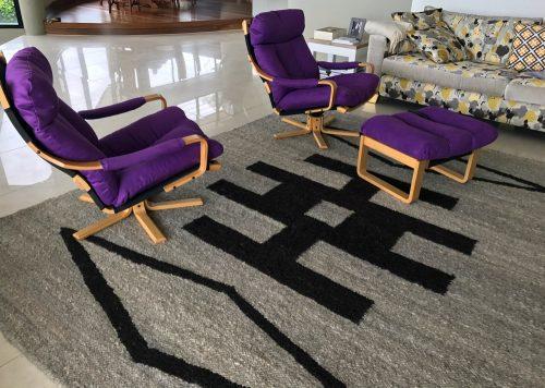 Handmade Area Rugs│100% Karakul Wool