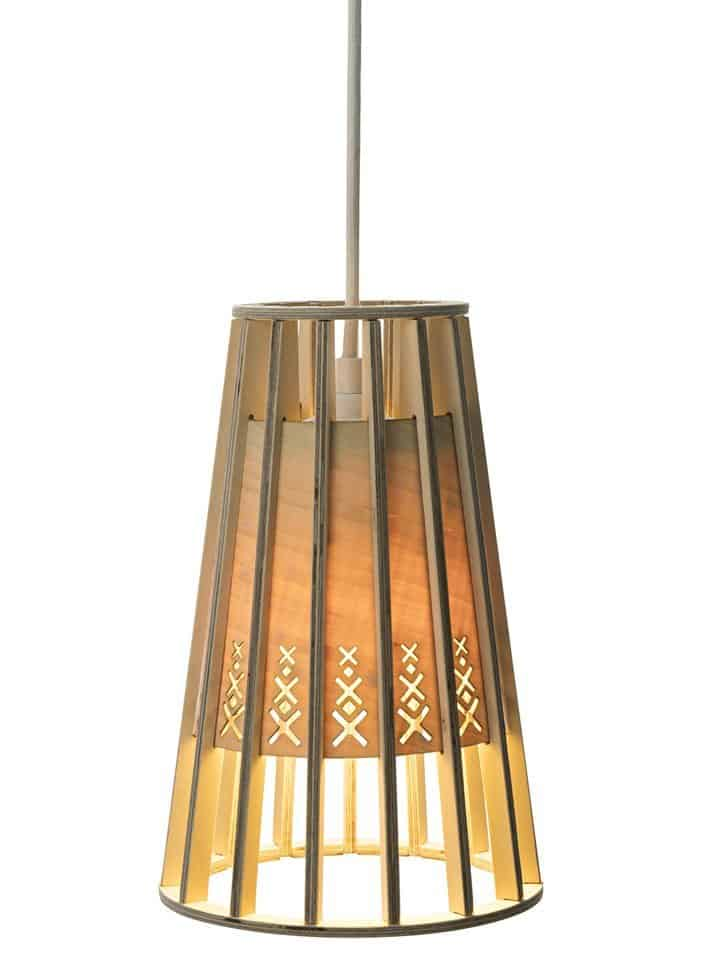 Wood & Bamboo Pendant Lights 2