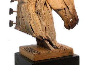 Sculptured Wooden Horse ,Trojan Horse