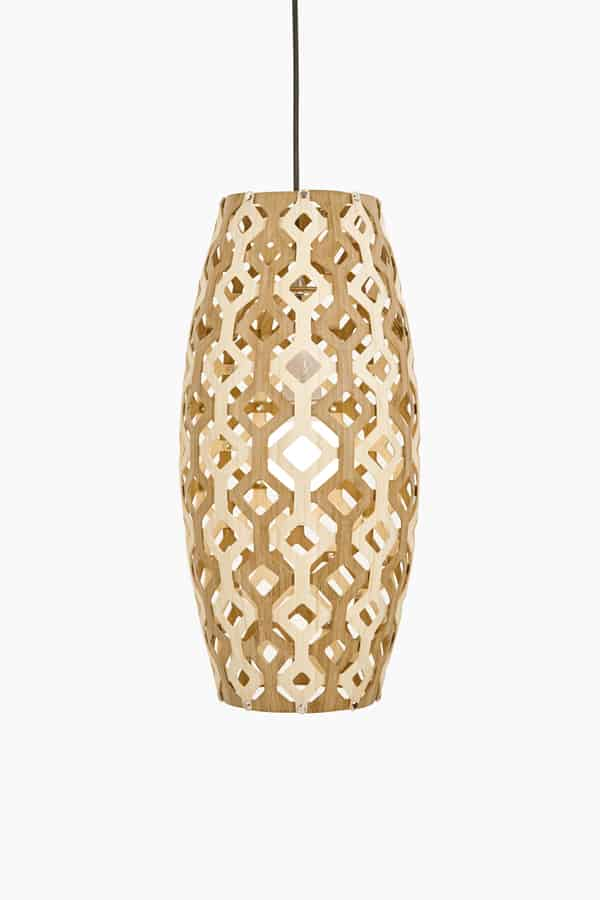 Wood & Bamboo Pendant Lights 3