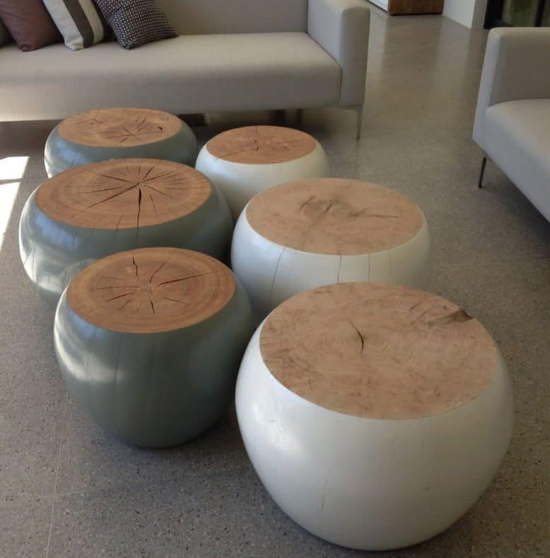 wood-turned-coffee-or-side-tables, wood turned tables, woodturnings,