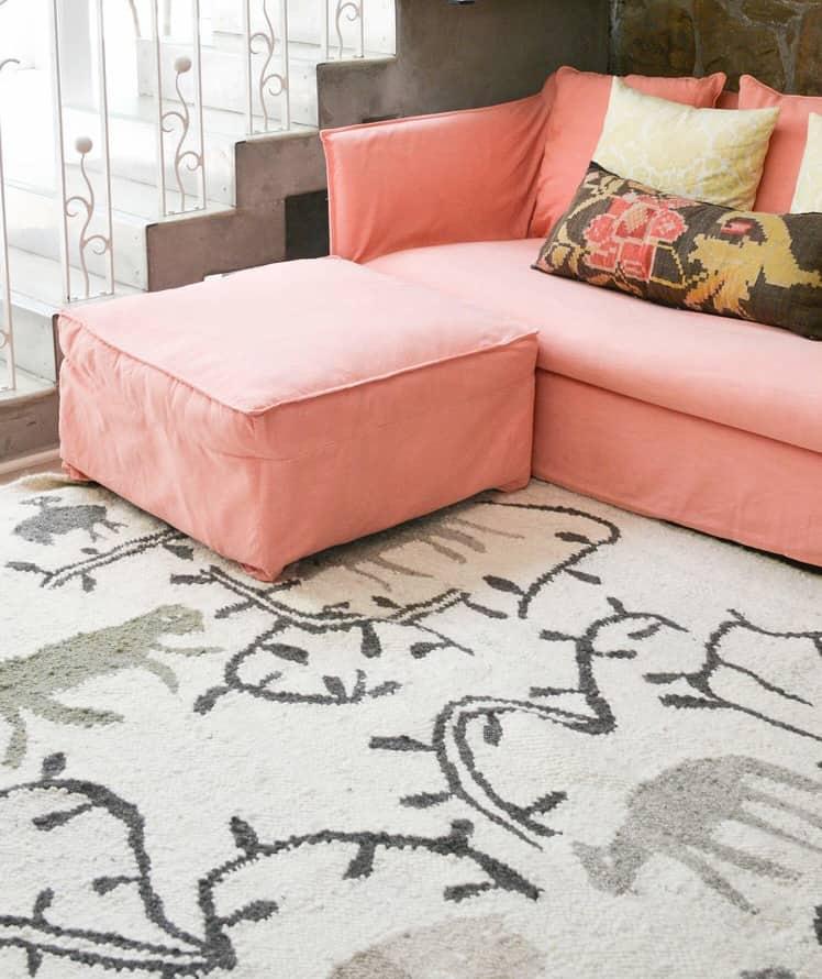 100% Wool Hand-Weaved Area Rugs