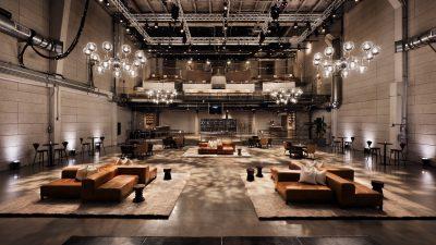 Wood Turned Stools for Neuewhouse Hollywood - Image Rockwell Group