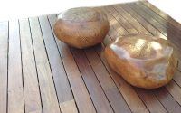 Wood Turned Pebble Tables│Seating 10