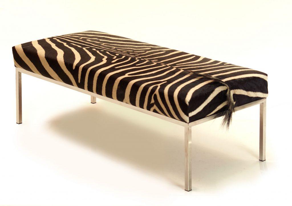 Zebra Skin Daybed│Bench 6