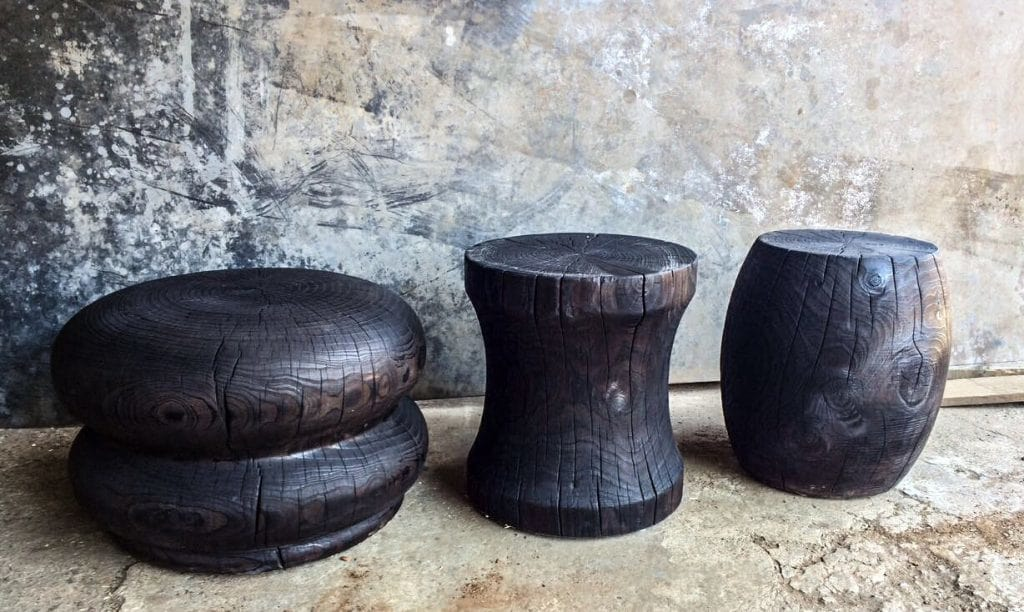 Woodturnings, Side Tables 6