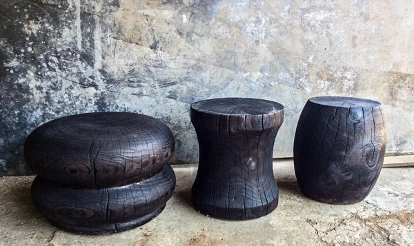 Woodturnings, Side Tables 1