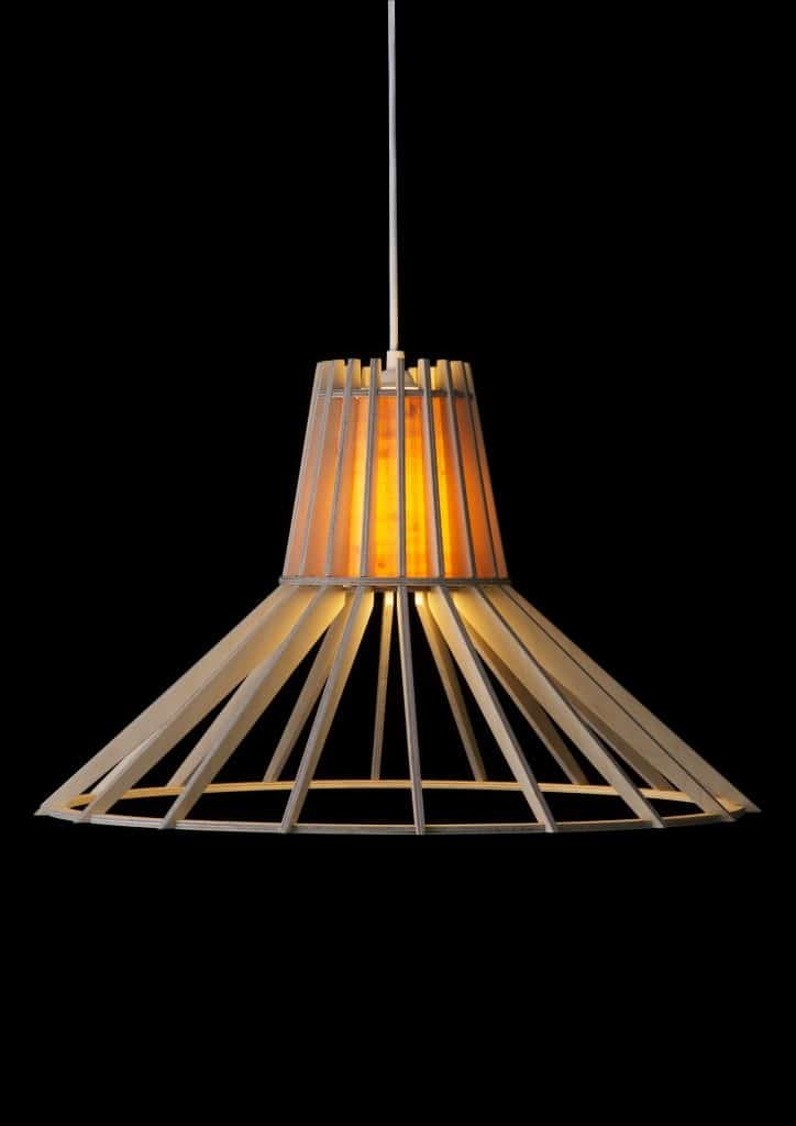 Wood pendant light fixtures phases africa african for Ceiling lamp wood